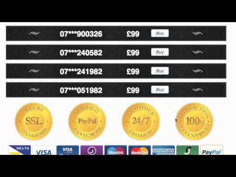 Buy a Mobile Number UK - How to get Memorable Mobile numbers
