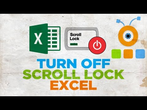 How to Turn Off Scroll Lock in Excel | How to Disable Scroll Lock in Excel