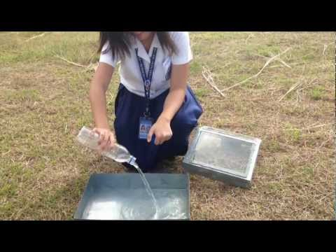 Solar Water Purification - Science Investigatory Project