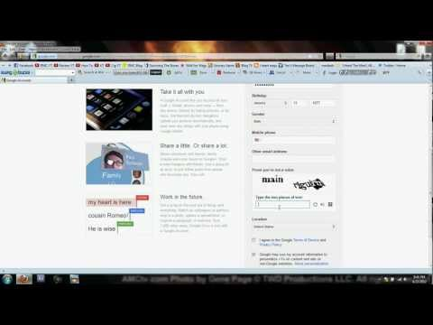 How To Make a Free Email account with Gmail (Google)