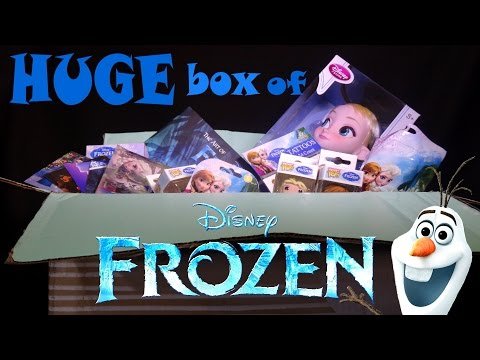 MAIL TIME! Huge Disney FROZEN Package from XY Adventurez!