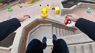 Real Life Pokemon Go (GoPro Parkour POV)
