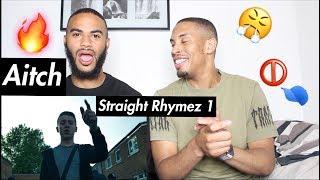 Aitch - Straight Rhymez 1 (prod. Pezmo) @OfficialAitch - REACTION!