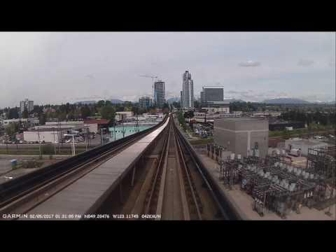 TransLink Canada Line Skytrain - Richmond Brighouse to Vancouver