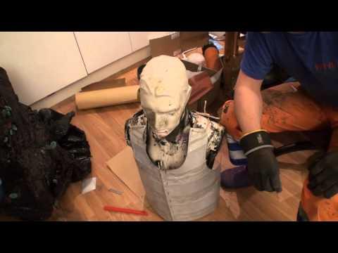 how to make a easy metal armor tutorial