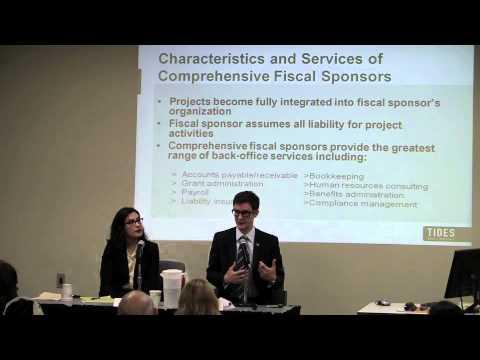 Fiscal Sponsorship for Emerging Nonprofits