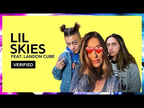 GIRLFRIEND REACTS TO LIL SKIES & LANDON CUBE!!!