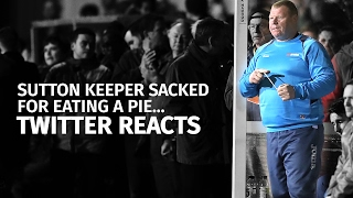 Twitter Reacts To Wayne Shaw Resignation Over Sutton Pie-Eating Controversy