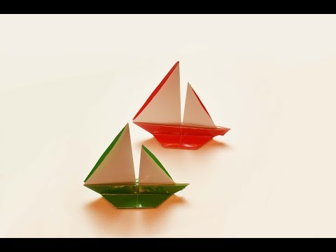 Origami Boat - Time-lapse