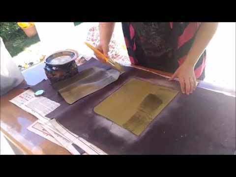 How to make waxed canvas tote bag.