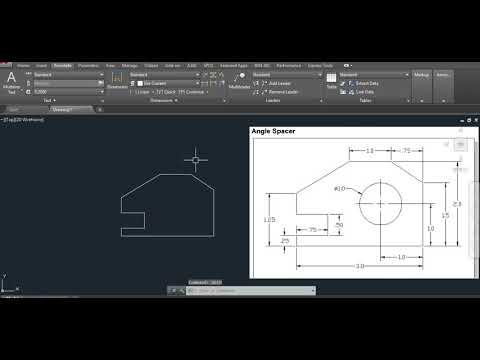 Angle Spacer 2017 09 15 5 41 17 (Basic Autocad Drawings)