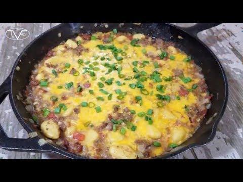 Bacon Cheeseburger Gnocchi Recipe | Episode 568