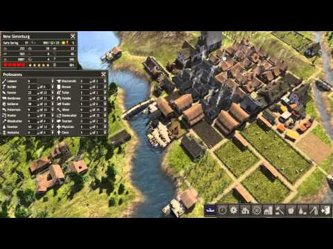 Banished playthrough #29: Cow Problems