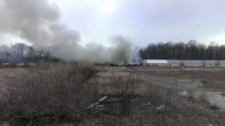 Garrettsville Turkey Farm Fire, part 5 (4/2/2014)