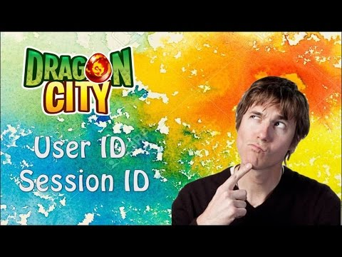 Dragon City - Find User ID & Session ID