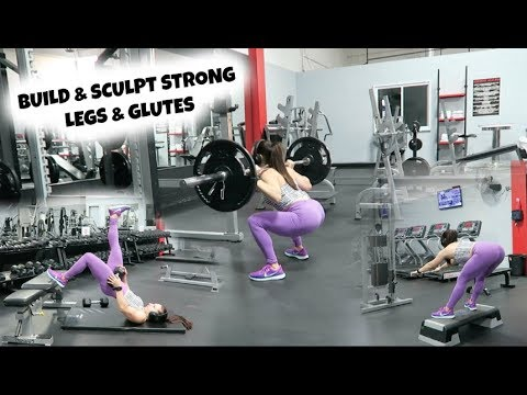 BUILD STRONG LEGS & GLUTES | Complete Quad, Glute & Hamstring Workout