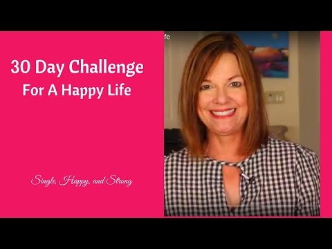 30 Day Challenge for a Happy Life