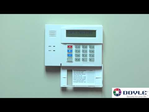 Doyle Security Systems - Basic Alarm System Operation of Honeywell Ademco Panel