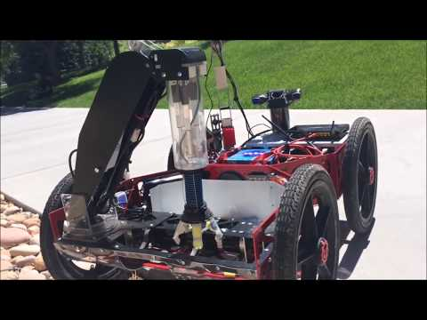 Planetary Exploration Robot For NASA RASC-AL Competition