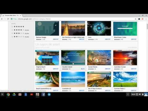 COMMENT PERSONNALISER LE THEME DE GOOGLE SUR CHROMEBOOK