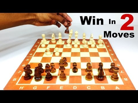 HOW TO WIN CHESS IN 2 MOVES in HINDI