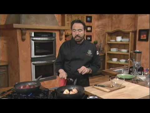 Pears Braised in Red Wine Sauce - Chef Nick Stellino