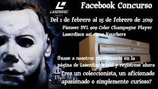 Facebook Halloween Laserdisc World Concurso