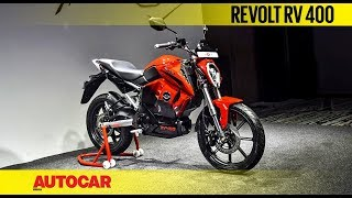 Revolt RV 400 electric motorcycle | First Look and Walkaround | Autocar India