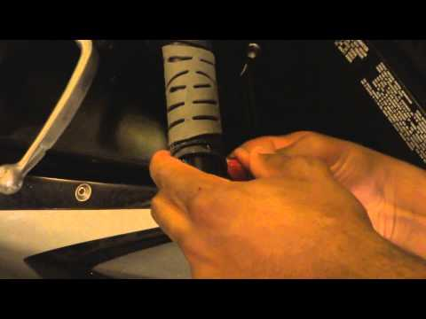 Gixxer Install handlebar grips and safety wire - 07 GSXR 750