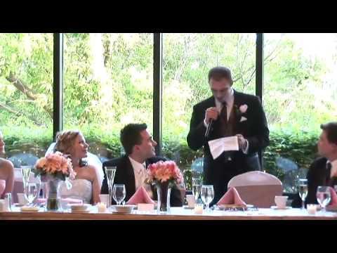 Best Man Speech - Very Entertaining!