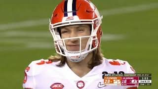 ALL Trevor Lawrence PLAYS From 2019 National Championship Game || Full Coverage
