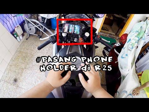 [#HowTo 4] Pasang Phone Holder di Yamaha R25