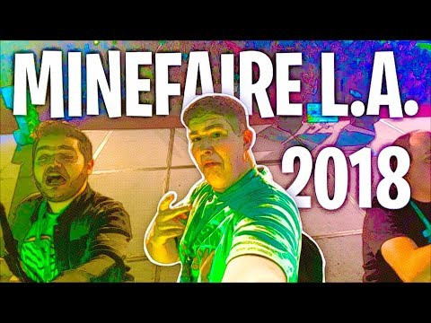 Logdotzip IGNORES MY VERY EXISTENCE?!? (Minefaire L.A. 2018)