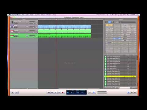 How to Record Music for Beginners (In GarageBand) | Part 1: General Walkthrough / Loops