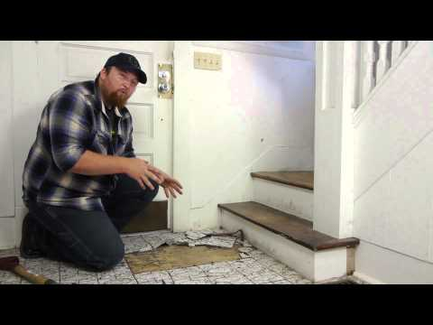 How to Remove Tile From a Hardwood Floor : Flooring Maintenance