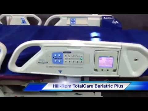 Hill-Rom TotalCare P1840 Sport Bariatric Plus Hospital Bed