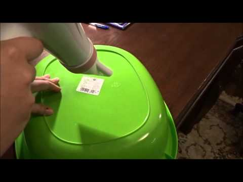 How to remove the sticker from plastic by Jan