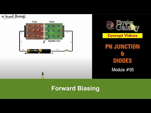 5. Class 12th Physics Lecture | PN Junction & Sem Diodes | Forward Biasing | by Ashish Arora