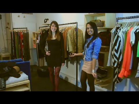 What Color of Tights Look Best Under a Black Dress? : Fashion Tips for Women