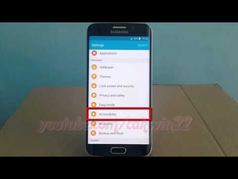 Android Lollipop : How to Enable or disable Use proximity sensor Voice Assistant on Galaxy S6