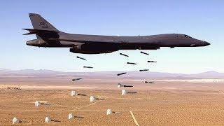 Stunning Video of B-1 Lancer in Action - Takeoff & Landing [Training Footage]