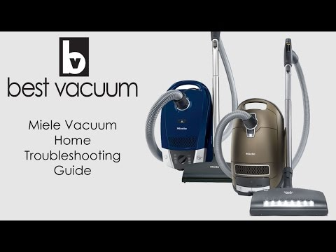 How to Troubleshoot Your Miele Canister Vacuum