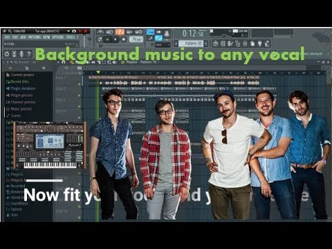 How to create background music to any vocal! (Easy!)