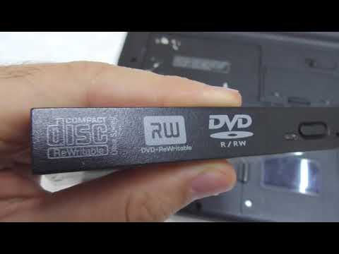 How to Remove CD/DVD drive from Laptop (Dell Inspiron 640M)