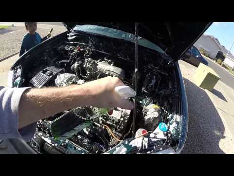 1998 Honda CR-V: Ep 6: Engine Compartment Cleaning