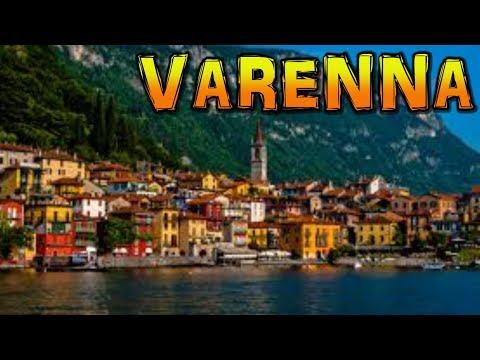Varenna Lake Como Italy 4K