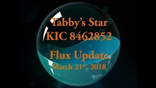 Tabby's Star KIC 8462852 Flux Update for March 21, 2018
