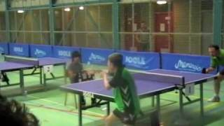 Rajko Gommers - Peter Verweij Einde 4e Game