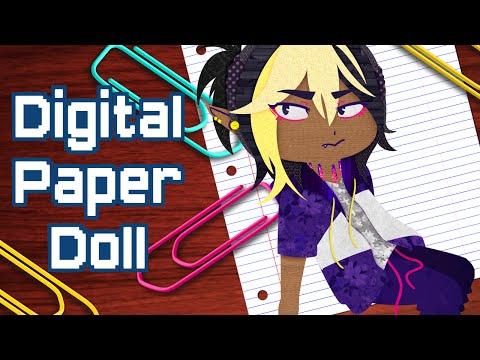 How to Make Digital Paper Dolls