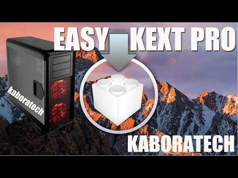 Easy kext Pro Kext installer